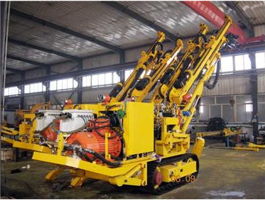 CMJ2-29 All hydraulic crawler drilling Jumbo