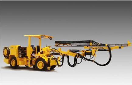 HT81A Wheel Type Hydraulic Drilling Jumbo