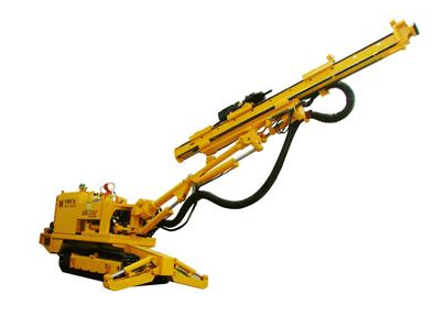CMJ17 Hydraulic single boom crawler drilling jumbo