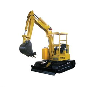 Electrical mini excavator