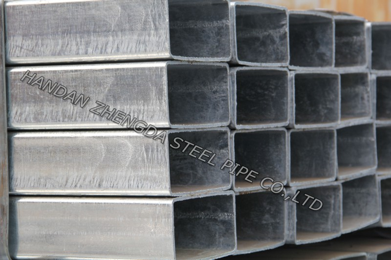 ERW SHS Hot Dipped Galvanized