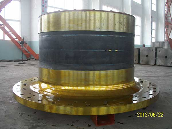 Ball mill trunnion bearing
