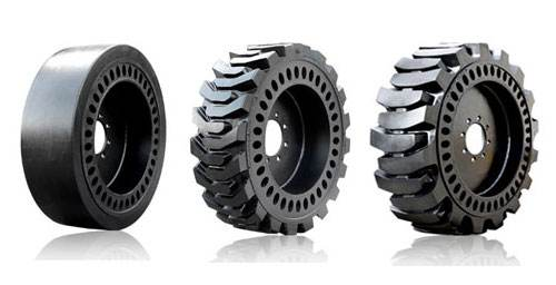 Sponge solid tires