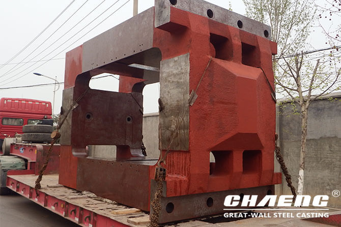 Rolling mill housing casting