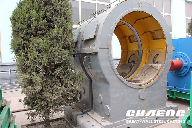 Ball mill main bearing cooling
