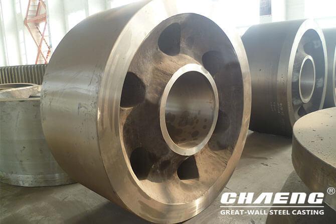 Kiln support roller materials